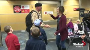 Okanagan based B.C. Dragoon returns home from peacekeeping mission